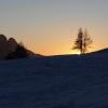 Sentinella al tramonto