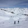 Piste del ghiacciaio Presena